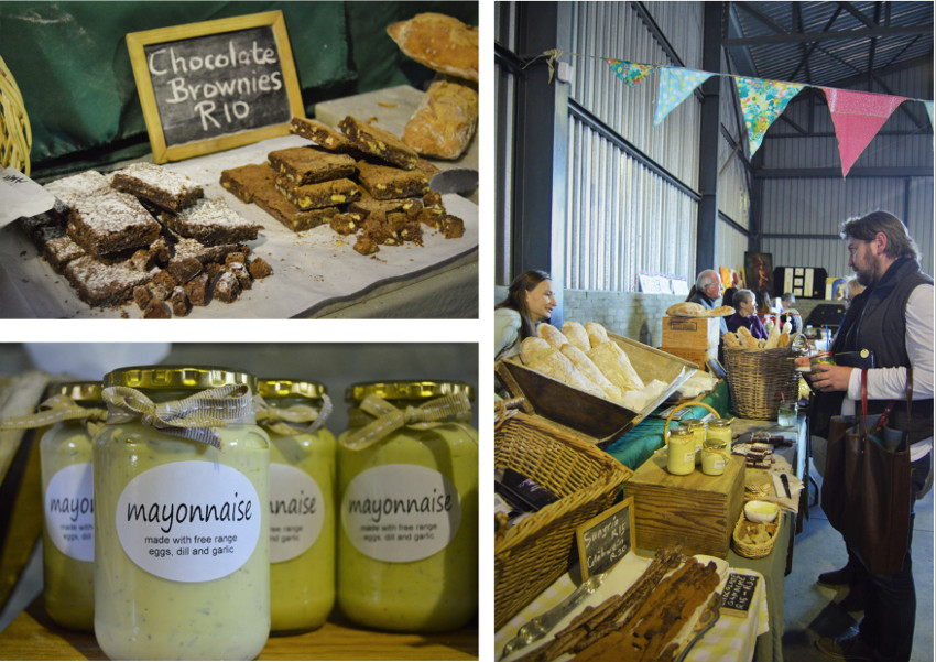 Daly Bread (and delicious brownies, mayonnaise, croissants and ice cream) at the Pure Boland Market